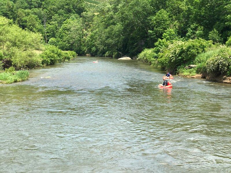 River Tubing Le New River
