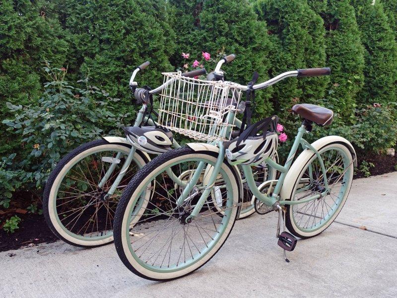 bicicletas para adultos de cortesia, mediante solicitação.
