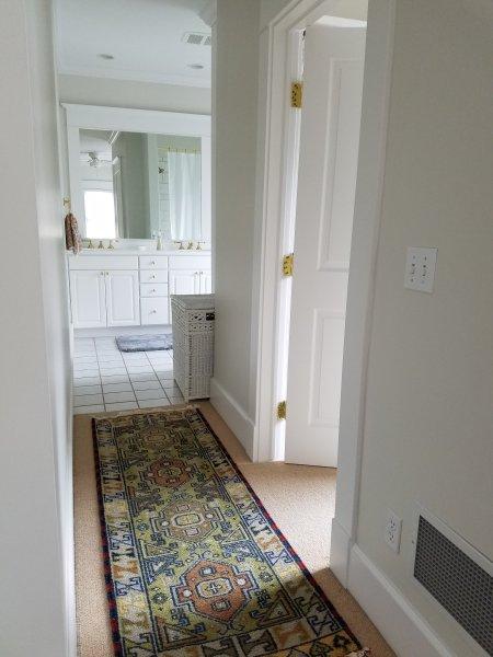 Master banho e enorme closet