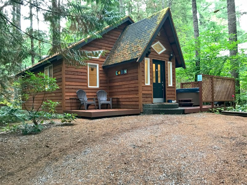 Glacier Springs Cabin 16 - This is a great cottage with an outdoor hot tub, vacation rental in Glacier