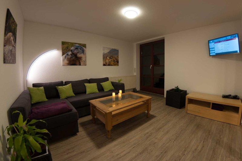 Wohnzimmer - Bild 1 - Ferienwohnung Murmeltier Albtal