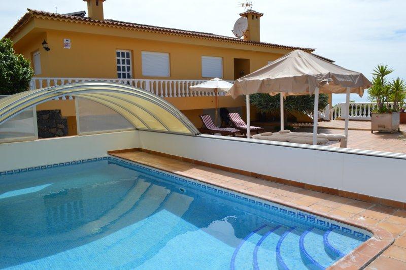 Villa Primaveraheatable Poolfree Wifibbq, alquiler vacacional en El Sauzal