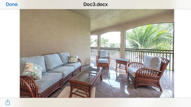 Wrap around screened-in lanai area!