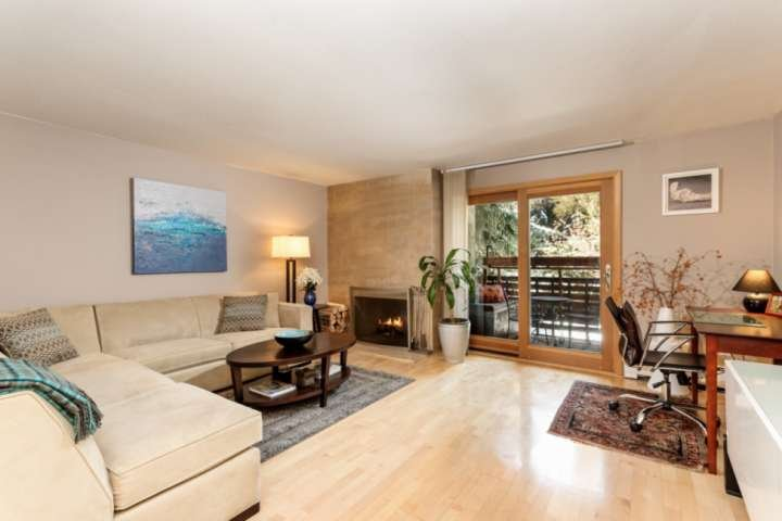 You will feel so relaxed in this warm color palette while enjoying the wood burning fireplace or inviting patio