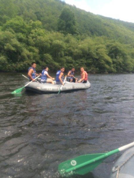 rafting 15 min away