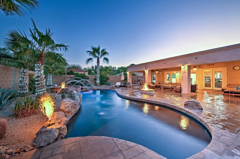 Spend your next Palm Desert getaway at this impressive Indio vacation rental property!