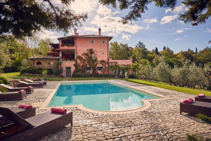Villa nel Poggio, Arezzo Tuscany, location de vacances à Arezzo