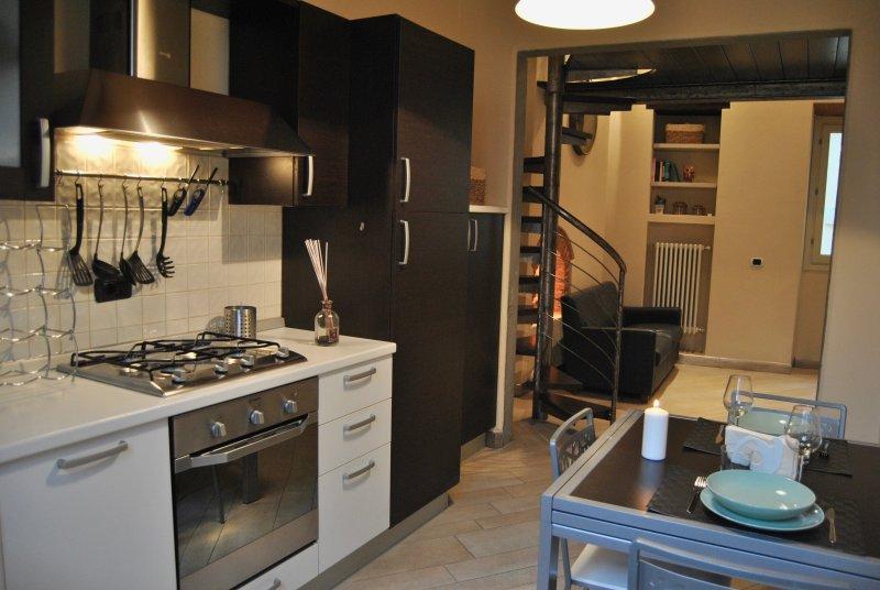 Appartamento i Fabbri, alquiler vacacional en Germinaia
