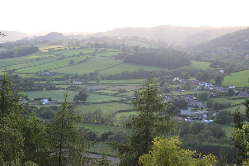 View from Offa's Dyke