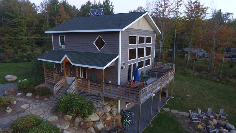 Lookout Mountain Chalet with hot tub, fire pit, and stunning views of Whiteface Mountain!