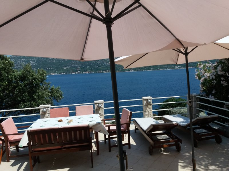 Stone seafront villa like a hidden pearl, holiday rental in Zrnovska Banja