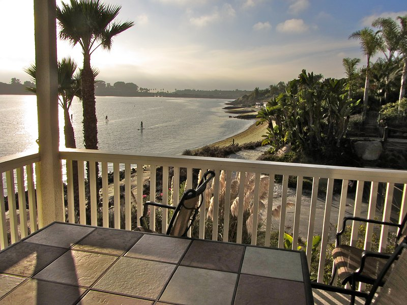 FRONT ROW CARLSBAD LAGOON! - STEPS TO BEACH! - OPEN NOV 1, vacation rental in Carlsbad