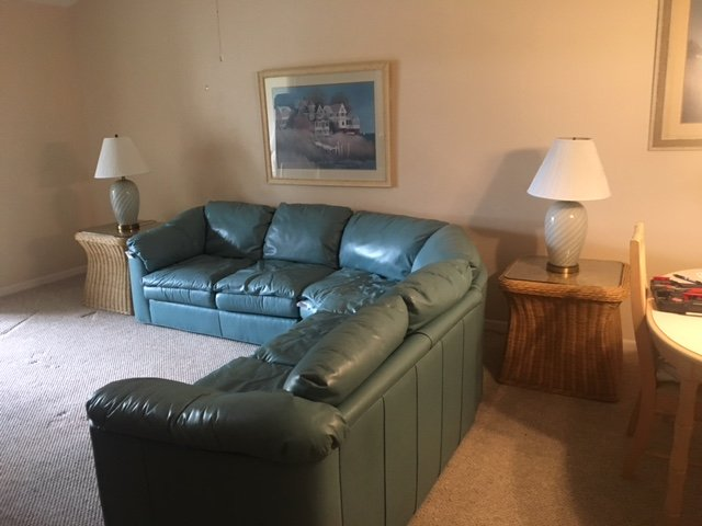 Newer leather couch