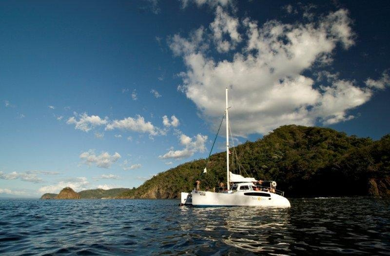 Catamaran adventures in town