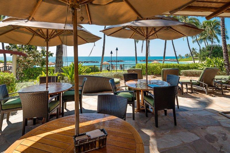 Bar côté plage