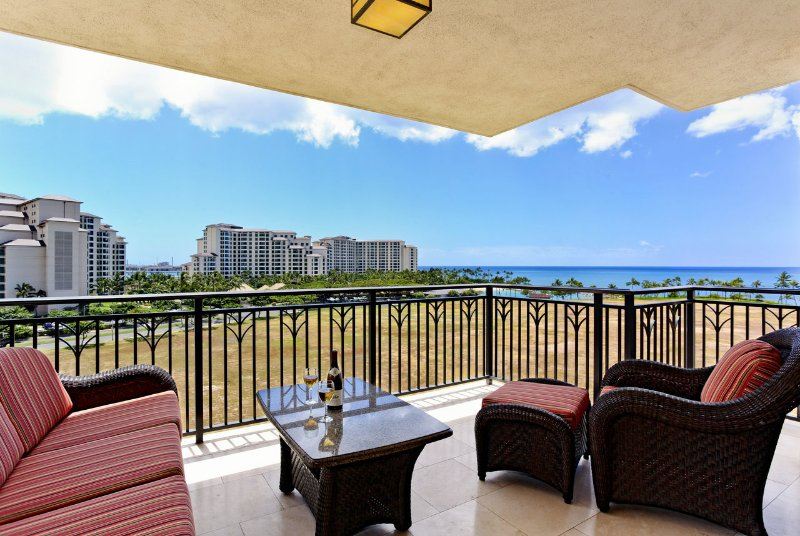 Lanai with Beautiful Ocean View
