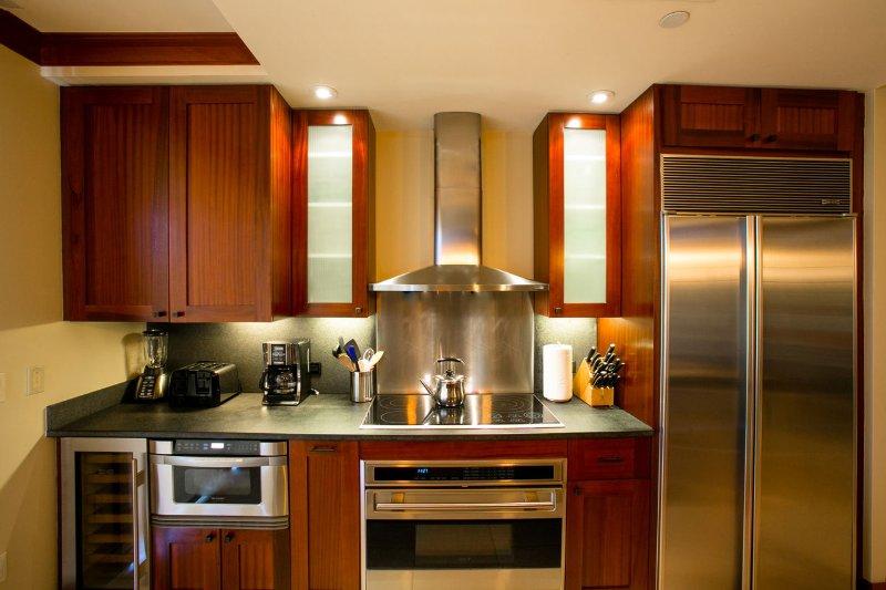 Tu cocina completamente equipada.