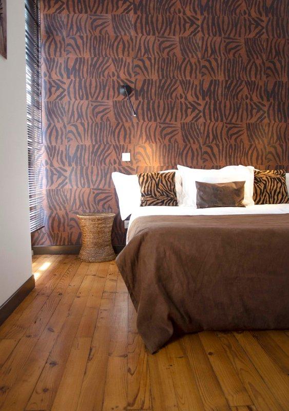 Casa Cozy Exotic Biarritz Halles Bedroom