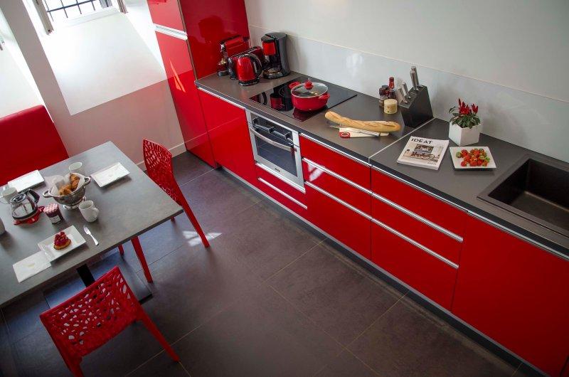 Casa acogedora cocina Optimista Les Halles Biarritz