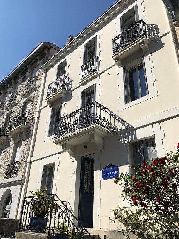 Casa Cosy Optimista terraza Les Halles Biarritz