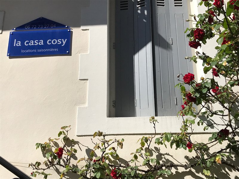 Casa Cozy Optimistic Les Halles Biarritz terrace