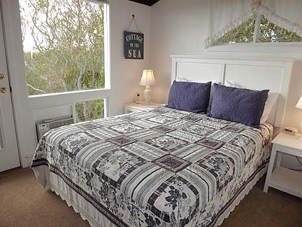 Another View of Queen Bedroom with Access to Deck