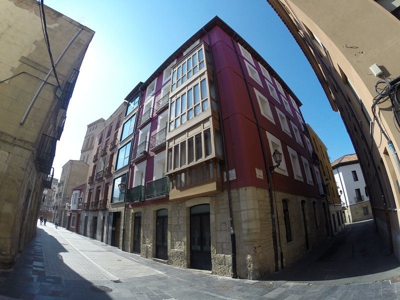 DOBLE APARTAMENTO CASCO ANTIGUO WIFI, holiday rental in Genevilla