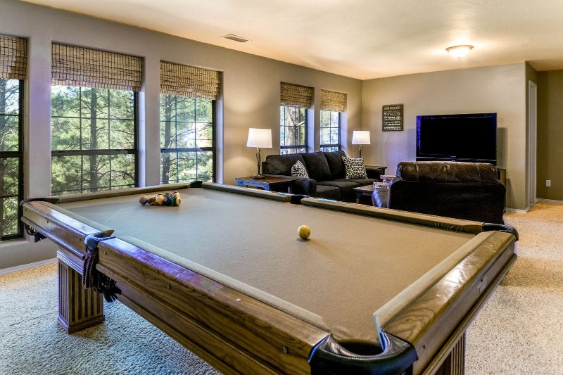 Pool table great for fun and activity
