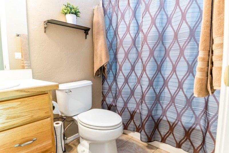 fully stocked bathrooms