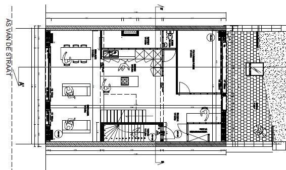 Piso inferior dos 150 metros quadrados apartamento