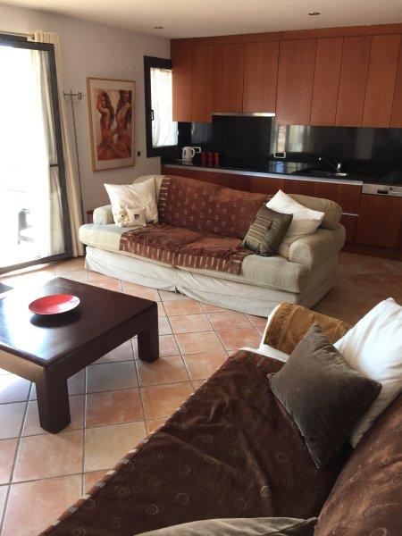 Penthouse apartment in central Porto Pollenca stunning view. Which has a lift., aluguéis de temporada em Formentor