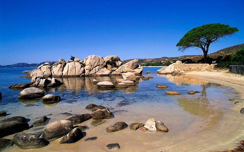 Playa Tamaricciu 1 kilometro