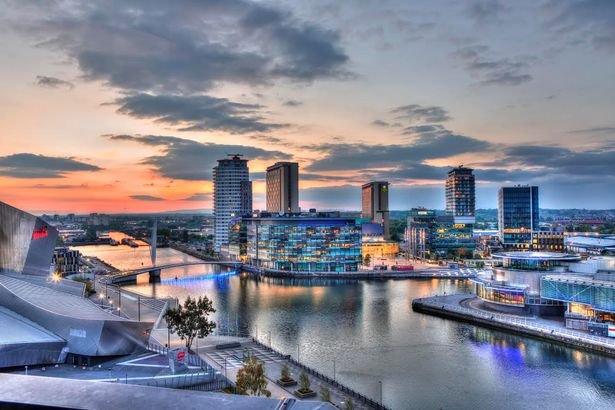 New Metropolitan destination-Media City, Salford Quays, Manchester.
