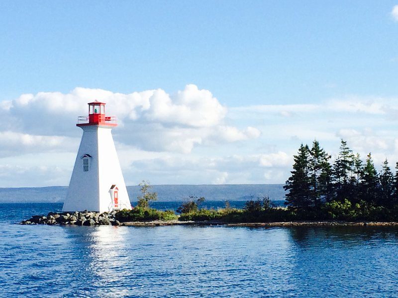 A favorite local spot:Kidston's Island Lighthouse and Beach Area