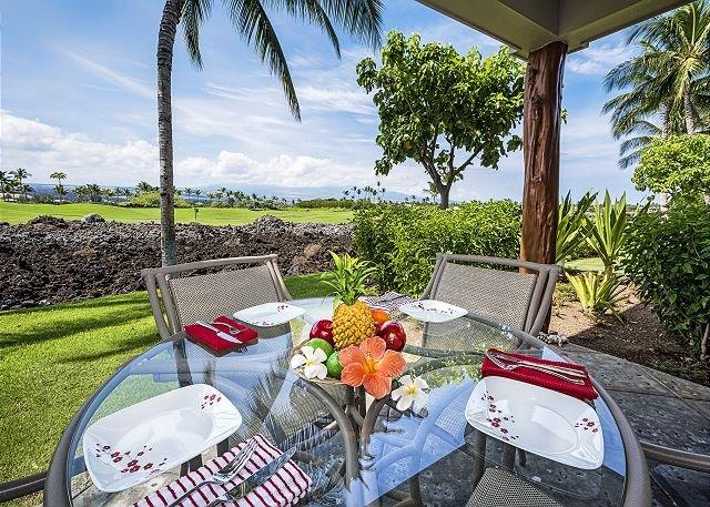 Lanai - Outdoor dining