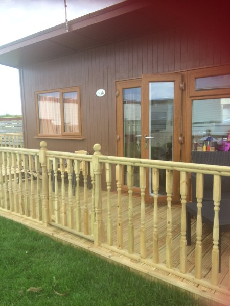 H15, 2 Bedroom, 4 berth, semi det chalet, Mablethorpe Chalet Park Dog Friendly, Ferienwohnung in Saltfleet