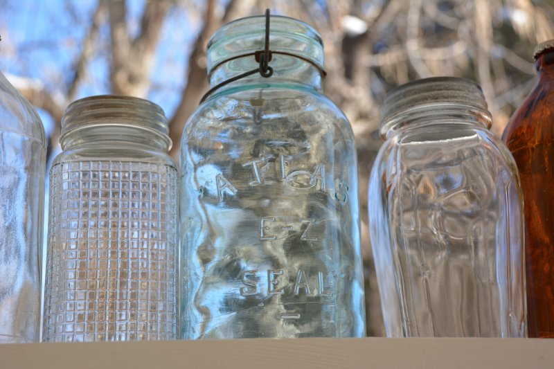 1 of our favorite glass jars from the 1940's.