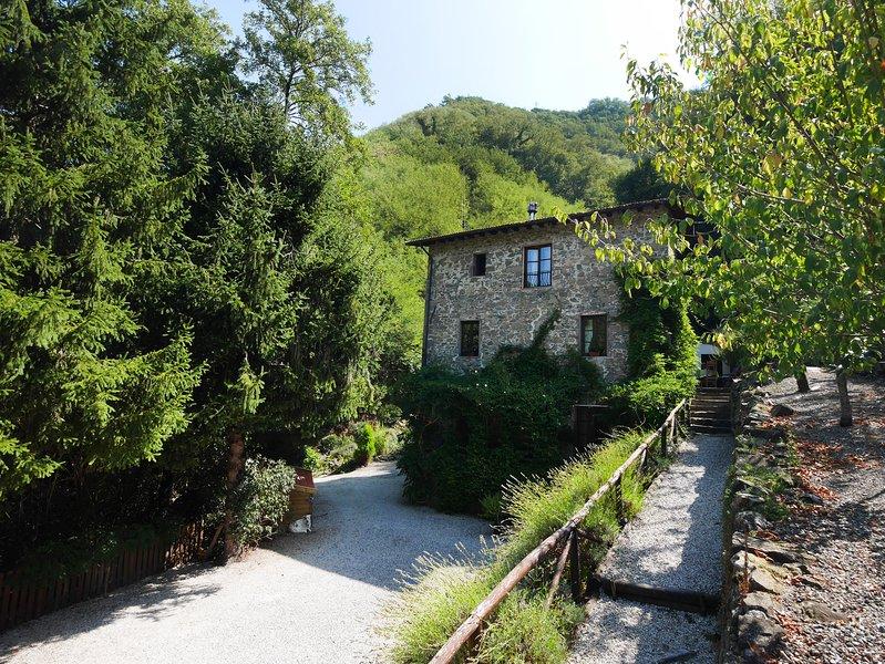 Luxe vakantieappartement in Toscane, holiday rental in Borgo a Mozzano