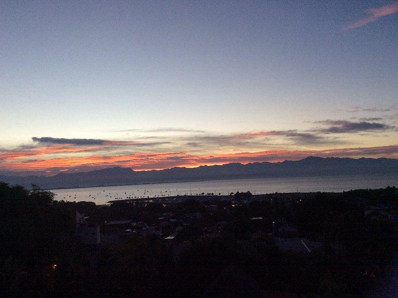 Sunrise over Banderas Bay