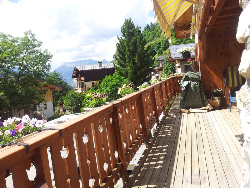 Les Niverolles - 18-20p chalet on the edge of the Vanoise National Park, holiday rental in Peisey-Vallandry