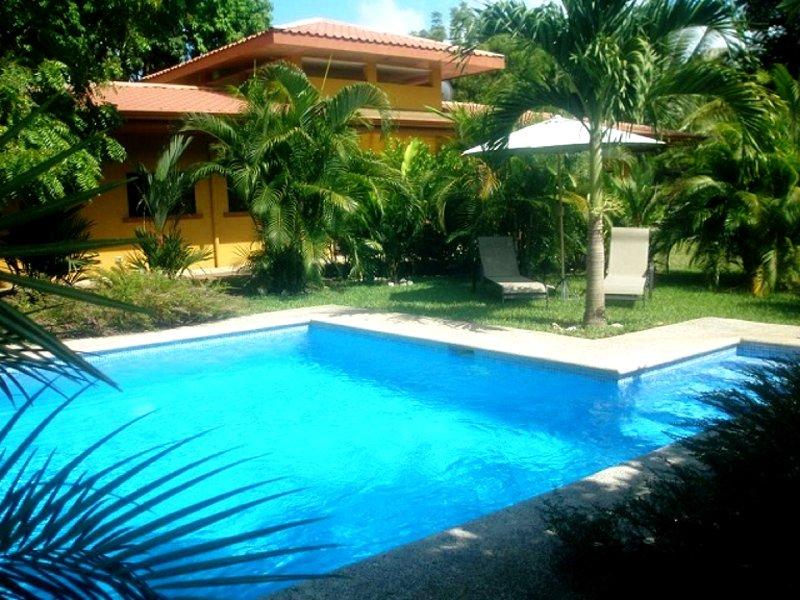 Casa Calma, das Strandhaus am Playa Coyote, holiday rental in Jicaral