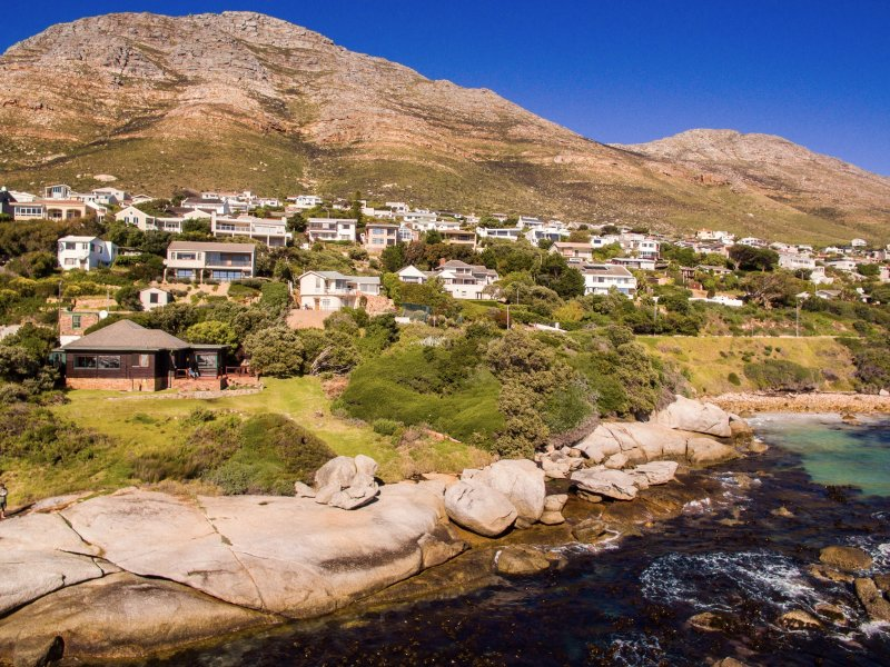 The Milestone, Murdoch Valley, Simon's Town situated on the waters edge on the False Bay coast.
