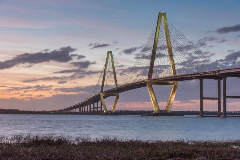 Luogo d'interesse di Charleston, il Ponte sul fiume Cooper