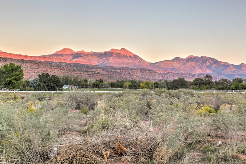 Fantastic views of the La Sal Mountains await!