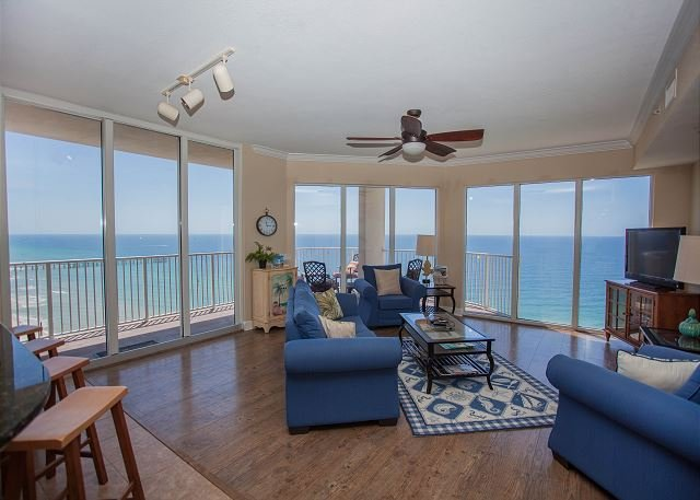 Luxurious Corner Unit At Tidewater Beach Resort With Wrap
