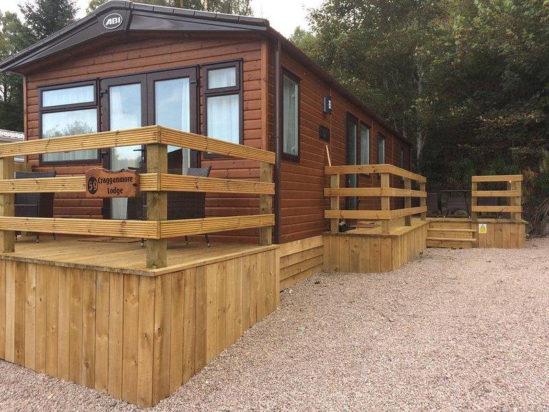 Cragganmore Lodge, holiday rental in Kincraig