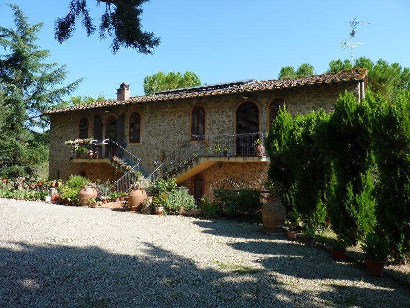 Chianti charme house, Covid-19 free, open all the year, location de vacances à Bibbiano