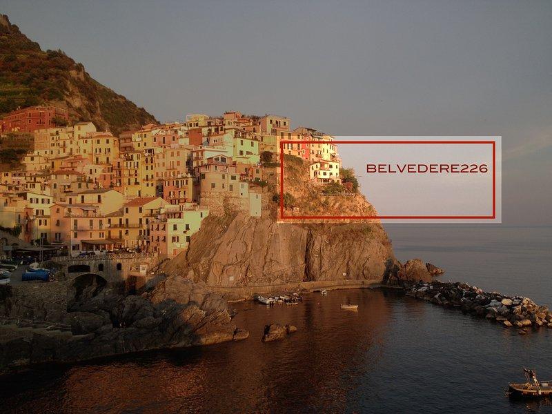 BELVEDERE226 : stunning villa overlooking the sea, casa vacanza a Cinque Terre