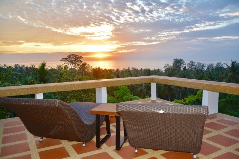 Keshin Sala - Sunset Seaview Private Villa, aluguéis de temporada em Koh Tao
