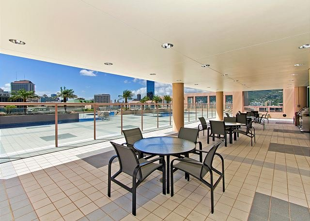 Seating Area Near The Pool